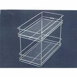 Double Pull Out Basket