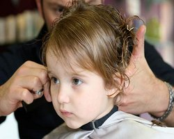 Hair Cut - Baby Girl