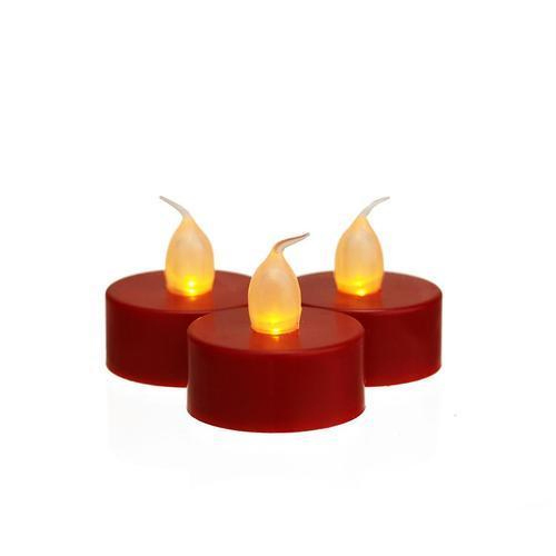 Red Tea Light Electric Candle Rs 250 Packet Super