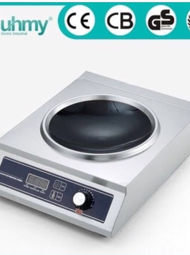 Sliver Chinese Induction Cooktop