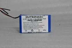 Intrinsic 14.8 V 2.6 Ah Lithium Ion Battery
