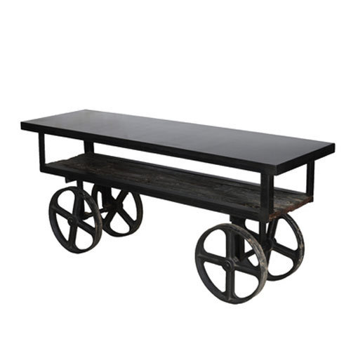 Trolley Coffee Table.Trolley Coffee Table