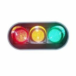 Red, Yellow And Green Led Signal Traffic Light, IP66