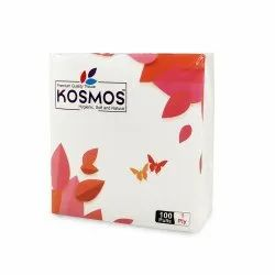 Kosmos Regular Use Quality 29x29cm Paper Napkins - 1 Ply 100 Pull