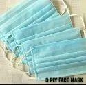 Three Ply Non Woven Disposable Face Masks