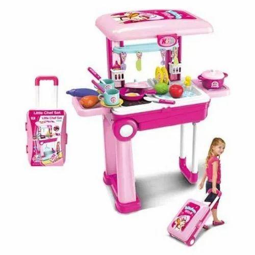 Trolley Kitchen Set At Rs 775 Set Toy Kitchen Set Id 21022895588