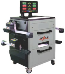 Space Fully Automatic Bluetooth Wheel Aligner For Truck & Bus, Model Name/Number: FBT-40, 500 W