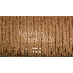 6 Wale Corduroy Suiting Fabric