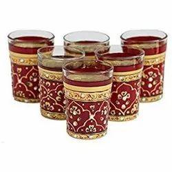 Handicraft Tea Glass