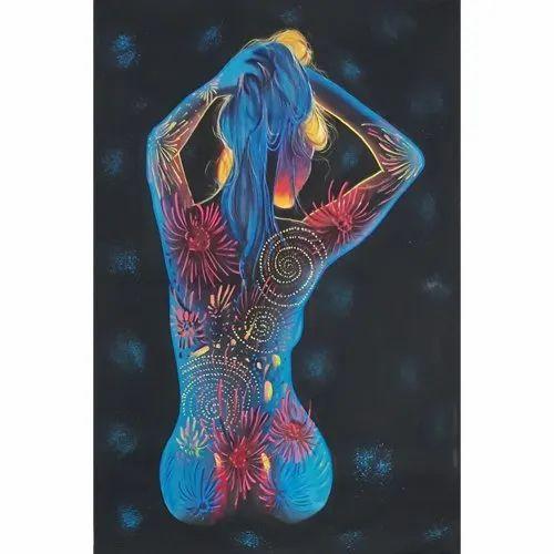 Women Body Painting Uv In Nasirabad By Modern Arts Id 22024632191