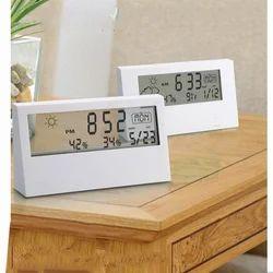 Clock with See Thru Display
