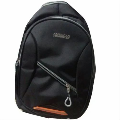 0003edd3c66a Black American Tourister School Backpack Bag, Rs 1000 /piece | ID ...