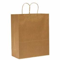 Plain Virgin Vertical Brown Paper Bags for Grocery, Capacity: 1-5 kg