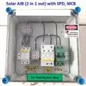 Solar AJB 2 in 1 Out with SPD, MCB Array Junction Box
