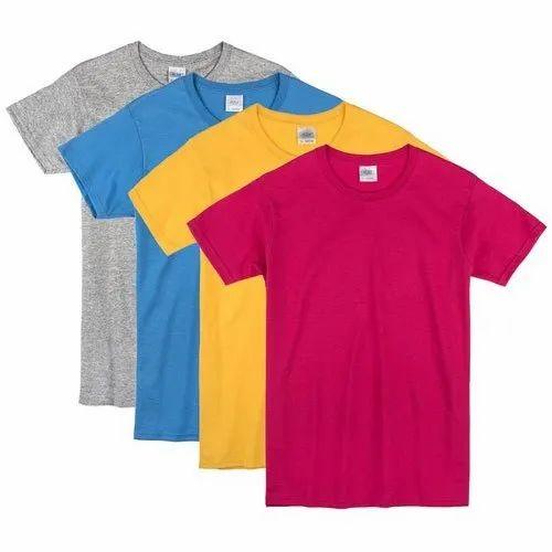 ChoiceIt Cotton Ladies Plain T Shirt