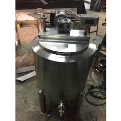 Stainless Steel Jacketed Mixing Vessel