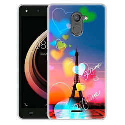 TPU Material Multicolor Infinix Hot 4 Pro Printed Back Cover