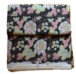 Hand Block Printed Cotton Floral Printed Fabric