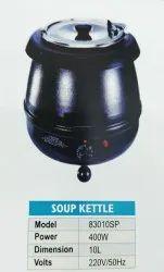 Black Iron Soup Kettle, 8 Kg