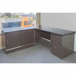 Free Standing Executive Brown Table