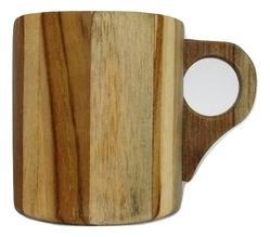 Wooden Tea Cup Full 100 Ml, Size: 5.5