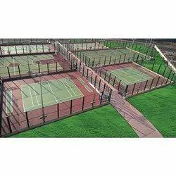 Ecoflex Synthetic Multipurpose Outdoor Sports Flooring