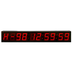 Digital Number Display System