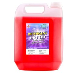Clean Fresh Red Detergent Liquid, Packaging Size: 5 Liter, Packaging Type: Jerry Cane