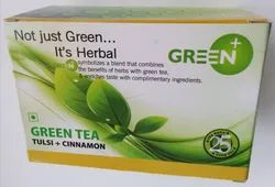Green Tulsi and Cinnamon Tea