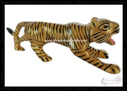 Metal Tiger Meena Work