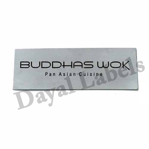 Name Plate - Steel Name Plates Manufacturer from New Delhi