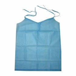 Plain Non Woven Disposable Apron, for Hospital