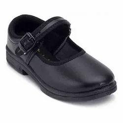 Blue Deewills School Wear Girl School Shoes