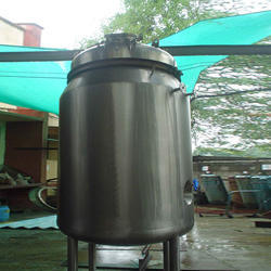 Stainless Steel Jacketed Insulated Storage Vessel, Capacity: 500 To 1000 Liter