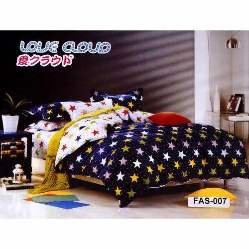 Designer Cotton Bed Sheet Set