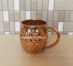 Copper Mule Mug Burfi Design