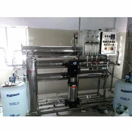 Fully SS Mineral Water Plant