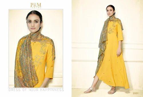 Readymade Designer Pure Rayon Kurtis For Ladies