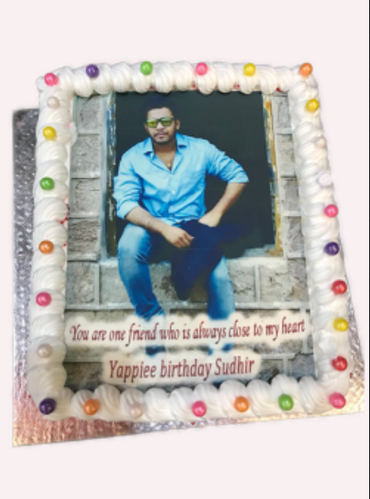 Admirable Photo Cake Rectangular Shape At Rs 1100 Kilogram Kothapet Ranga Funny Birthday Cards Online Inifofree Goldxyz