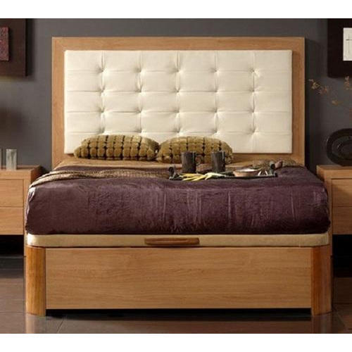 Wooden Cushion Double Bed At Rs 25000 Piece कुशन पलंग