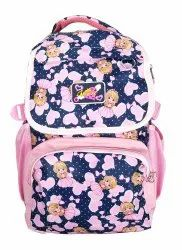Blue And Pink School Bag