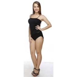 Black Latin Womens camisole Slip