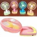 Portable Powerful Rechargeable Fan With LED Light