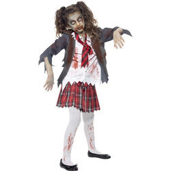 zombie school girls mascot costume