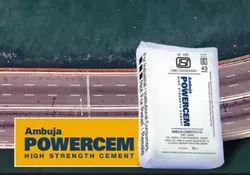 Ambuja Powercem Cement, Packaging Size: 50 Kg