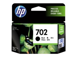 HP 702 Black Hitam Ink Cartridge