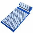 Acupressure Mat and Pillow for Back Pain Relieves and Muscle Relaxation(811-3, Multicolor)
