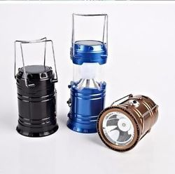 Solar LED Torch Camping Lantern Rechargeable