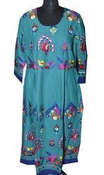 Wholesale Designer Embroidery Jaipuri Kurti