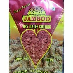 Jamboo Dried 500g Scented Dry Dates Cutting, Packaging Type: Packet